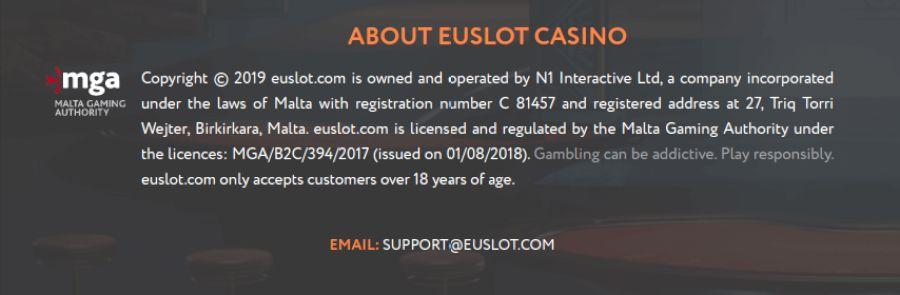 About EUSlot Casino