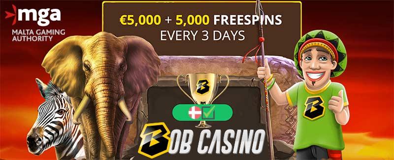 Bob Casino med Malta licens