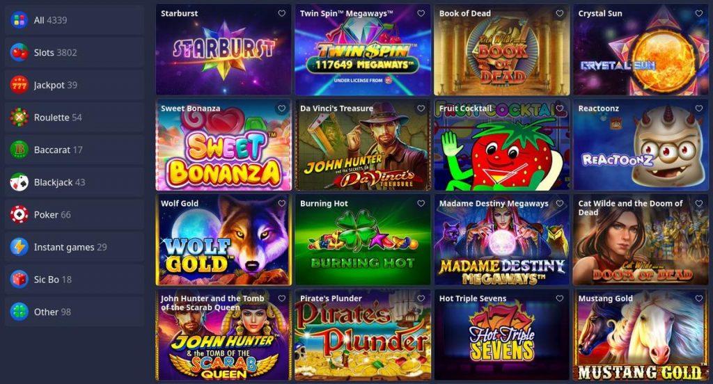 Betmaster casinospil
