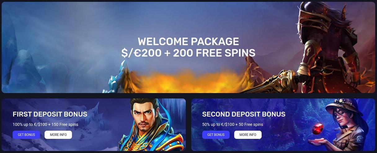 Woo Casino bonus