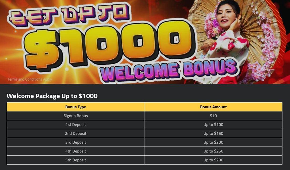 7 Stars Casino bonus