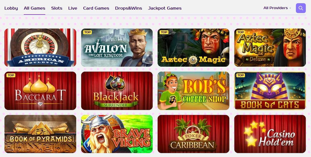 Spil på Kim Vegas Casino