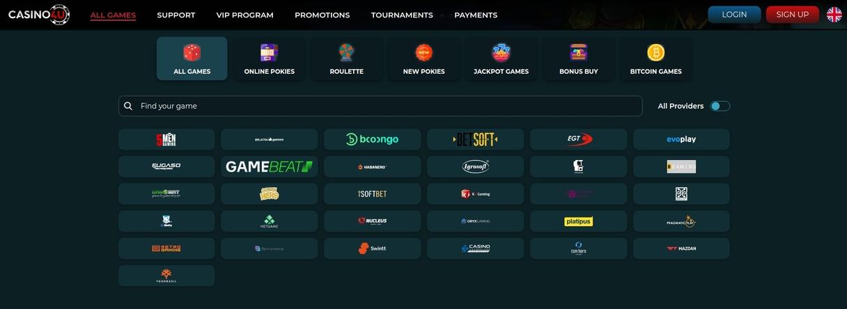 Udvalg af Casino Spil